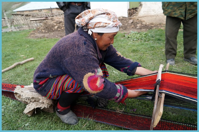 Crafts of Central Asia.